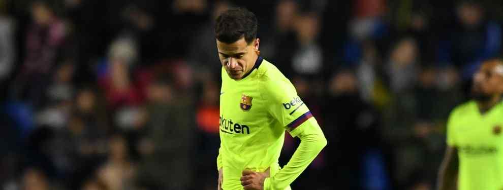 El escándalo Coutinho que tapan Messi, Luis Suárez y Piqué (y avergüenza al Barça)