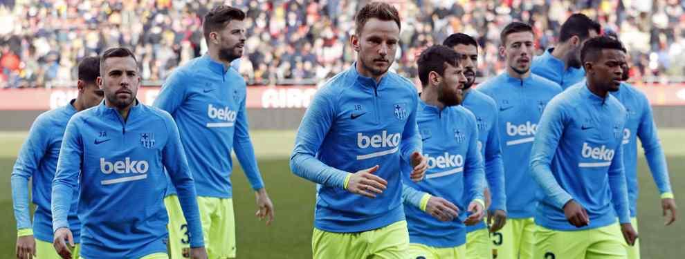 El Barça ya comienza a pensar en el futuro. El equipo azulgrana, a la espera de los éxitos que pueda cosechar durante este curso, ya planea las llegadas y salidas que pueden producirse en junio.