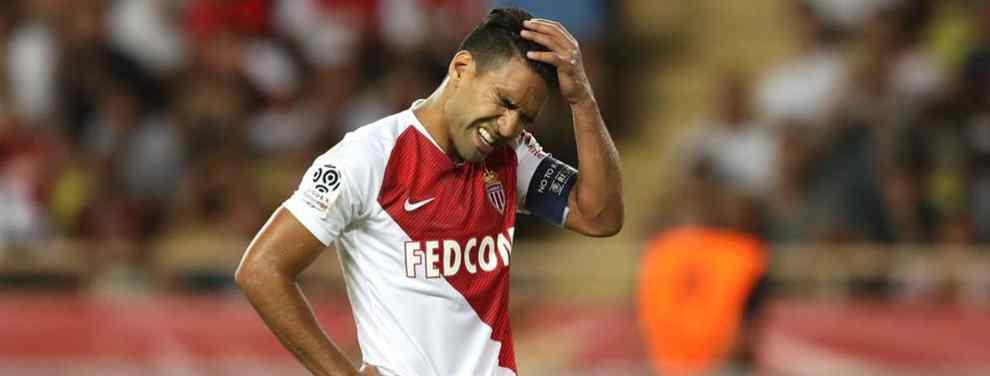 Falcao deja en ridículo a Simone con una bomba en el Atlético de Madrid