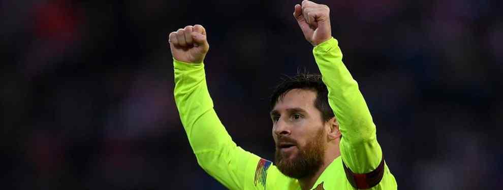 Messi asusta a Florentino Pérez (y al Real Madrid) con una bomba en el Barça