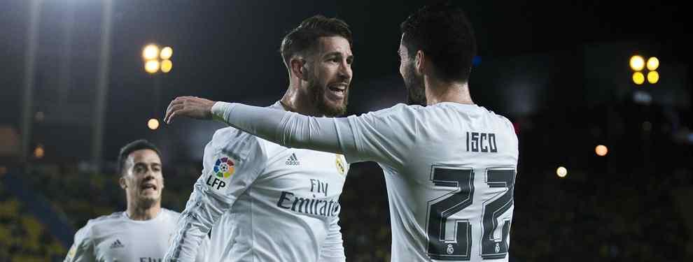 Isco se mete en un lío terrible con Sergio Ramos: bronca bestial en el Real Madrid