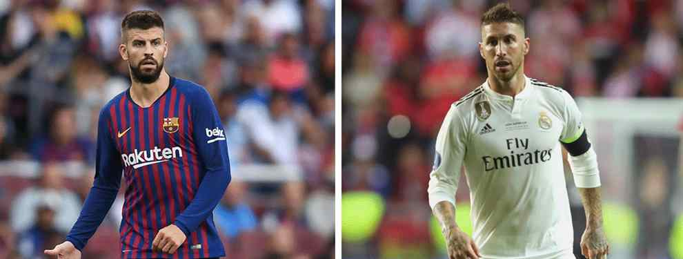 Sergio Ramos va de cara. El capitán del Real Madrid sabe mejor que nadie que este año la Liga es un imposible. Y así se lo ha hecho saber a Gerard Piqué con mensajes en los que el campeonato se da por perdido.
