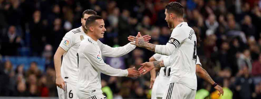 Cartas sobre la mesa. Un último giro deja a un galáctico a las puertas del Real Madrid.  Si Florentino Pérez quiere, jugará de blanco.
