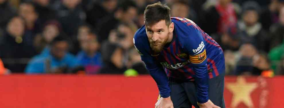 Messi no aguanta más. Tras la eufórica remontada del Barça contra el Sevilla, que permite acceder a las semifinales de la Copa del Rey, Leo se ha encontrado con un serio problema.