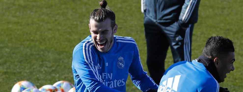 Florentino Pérez le da el '11' de Bale: el pacto de Adidas con el Real Madrid