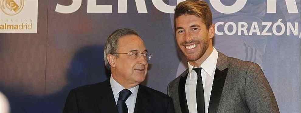 Sergio Ramos elige el nuevo entrenador del Real Madrid con Florentino Pérez (y hay sorpresa)