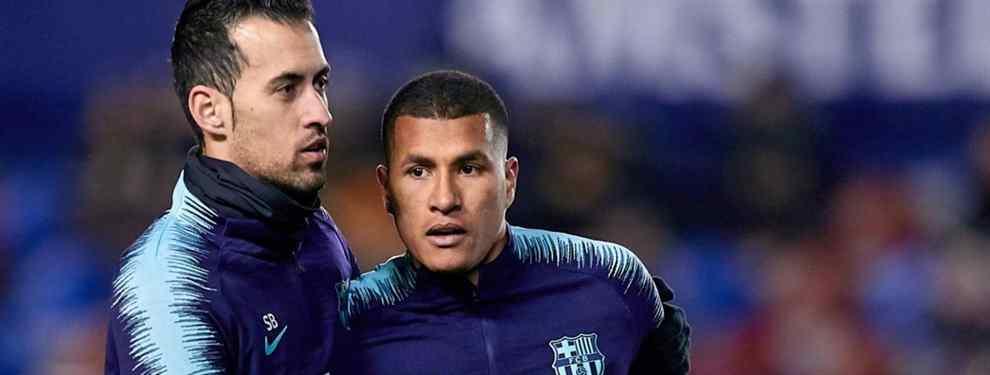 Otro Yerry Mina: escándalo Murillo en el Barça (y Messi, Suárez, Piqué y Coutinho están metidos)
