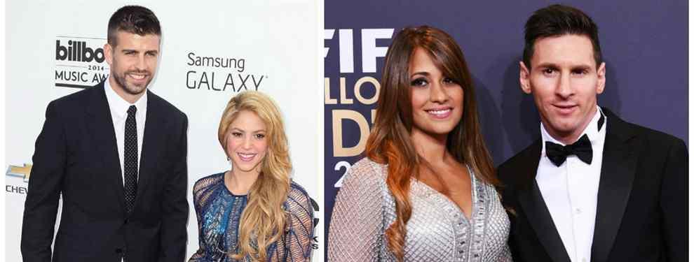 Shakira de fiesta loca con Messi y Piqué: la foto que escandaliza Barcelona (y España)