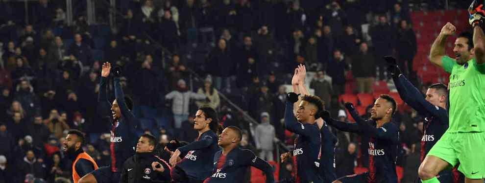 Al ataque. El PSG tiene entre ceja y ceja rearmarse con vistas al próximo curso.  La posible fuga de Neymar, del que en París están cada vez más hartos, activará un efecto dominó que puede afectar a Barça y Madrid por igual.