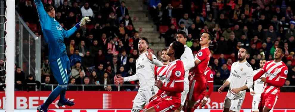Partido sin mucha historia en Montilivi. El Real Madrid llegaba a Girona con la eliminatoria encarrilada tras el cuatro a dos de la ida y despejó las dudas que podían quedar en la primera parte.