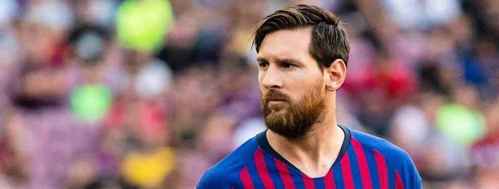 Increíble: Messi detuvo un fichaje de última hora en el Barça (y no creerás quién es)