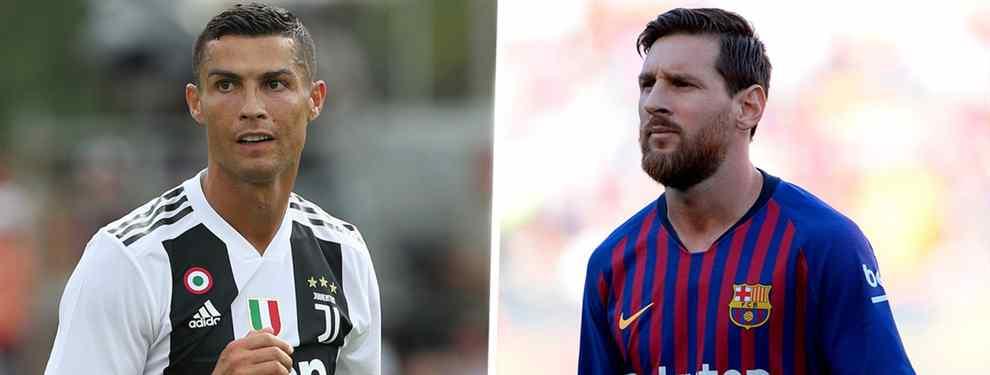 Messi hace llegar un recadito bomba a Cristino Ronaldo: el hachazo que arrasa el Barça