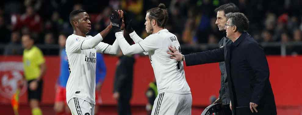 Gareth Bale no lleva bien su suplencia. El galés es incapaz de entender como jugadores como Lucas Vázquez, Vinicius y hasta Marco Asensio, criticado hasta hace no mucho, han pasado por delante de él.
