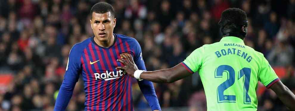 El palo de la directiva del Barça a Valverde por culpa de Murillo (Yerry Mina está implicado)