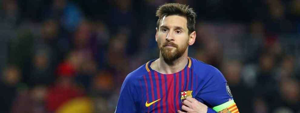 La bronca de Messi a tres jugadores del Barça (lía la de Dios contra el Valencia)