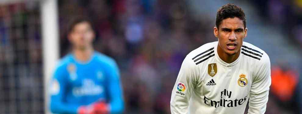Es el nuevo Varane: El tremendo enfado de Florentino por escapársele un fichaje TOP por un millón