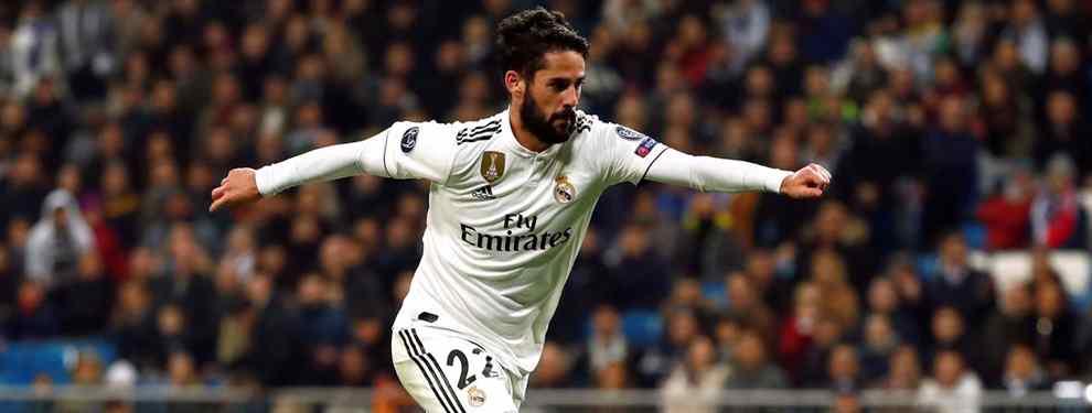 Isco recibe tres ofertas para sacarlo del Real Madrid (y Florentino Pérez da el OK)