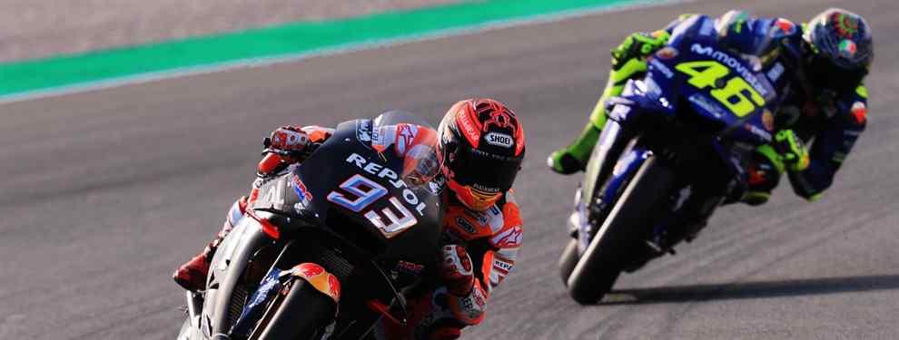 Valentino Rossi cambia de táctica. El piloto de Yamaha borra el gesto de preocupación que le acompañó en 2018 por el optimismo. Y desde ya.