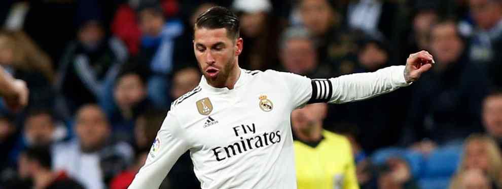 Sergio Ramos va de cara. El capitán del Real Madrid, lejos de esconder sus cartas, las muestra.  Santiago Solari tiene entre ceja y ceja alinear a Gareth Bale en el Clásico en el que el Real Madrid se juega media vida