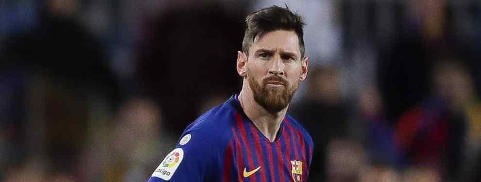 El fichaje bomba del Barça que destroza a Messi antes del Clásico