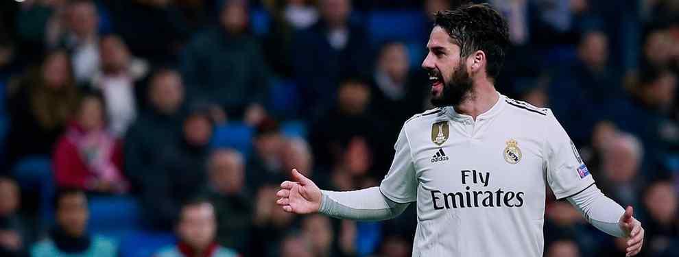 Florentino Pérez mete a Isco en un cambio de cromos sorpresa (y galáctico) para el Real Madrid