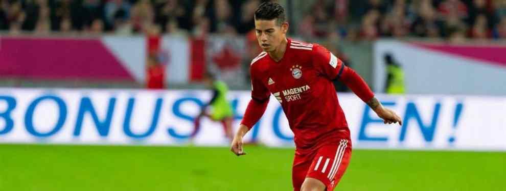 James Rodríguez tiene una pelea (y muy fea) en el vestuario del Bayern por esto
