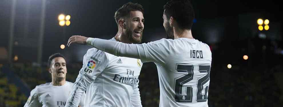Sergio Ramos esconde una pelea de Isco con un jugador del Real Madrid en las últimas 24 horas