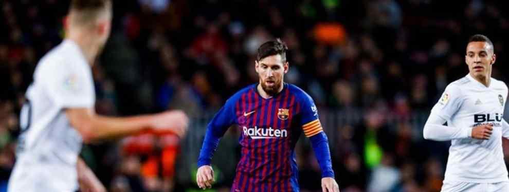Leo Messi no podía ocultar su mosqueo al acabar el Clásico. Entre la suplencia, el resultado y el pobre nivel de juego, el argentino estaba a punto de estallar. Y estalló.