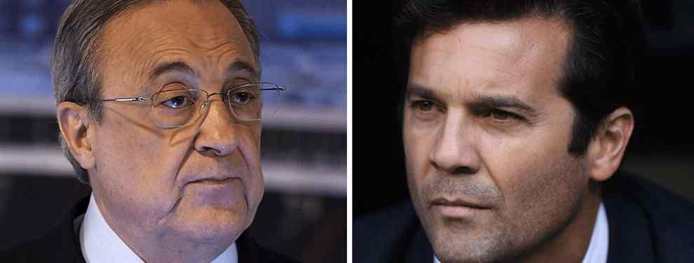 Solari pacta el futuro de James Rodríguez con Florentino Pérez