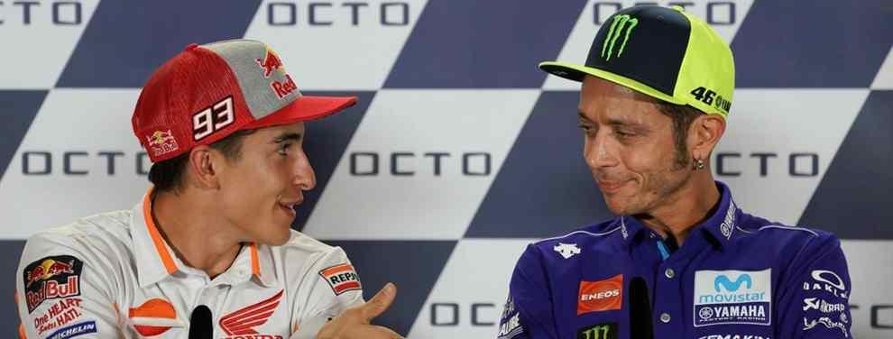 Problemas con Marc Márquez en Sepang: el lío que llega a Valentino Rossi y Jorge Lorenzo
