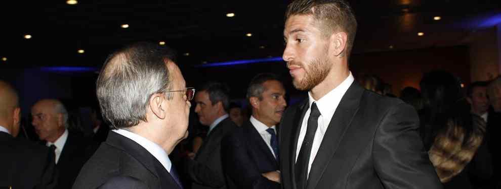 Sergio Ramos pone a Florentino Pérez contra las cuerdas: lo que pide para seguir en el Real Madrid