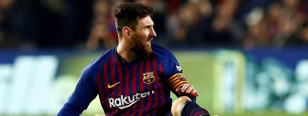 Bestial follón con Messi en el Barça por un fichaje para cargarse a un titular de Valverde