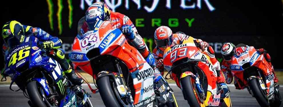 El tapado de Moto GP que tiene a Valentino Rossi, Marc Márquez, Jorge Lorenzo y Dovizioso en alerta