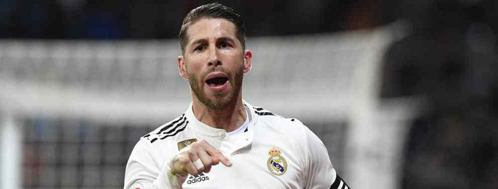 El galáctico que pide a Florentino Pérez el '4' de Sergio Ramos para fichar por el Real Madrid