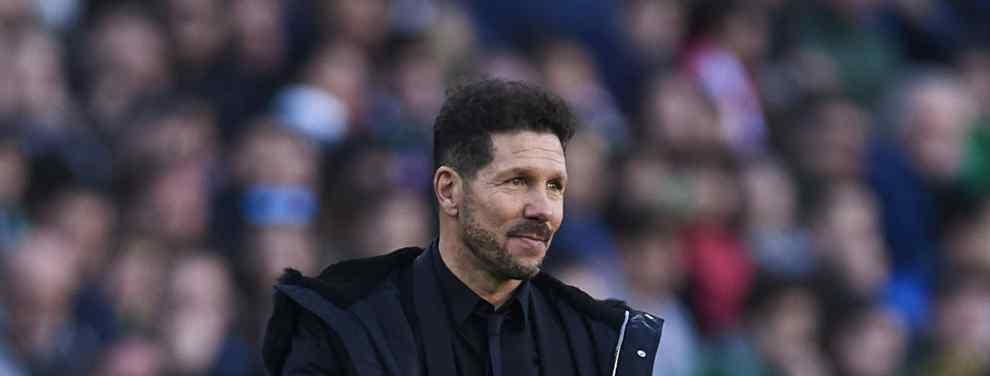 El Atlético de Madrid es un club en el que se celebra con bombos y platillos el hecho de mantener a sus máximos exponentes para la siguiente temporada. Simeone, el primero.