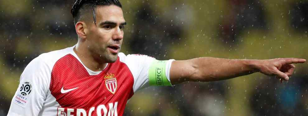 Radamel Falcao deja en ridículo a Simeone con un top secret tras el Atlético-Real Madrid