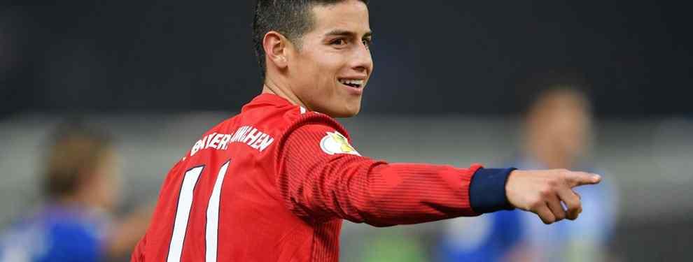 Viene recomendado por James Rodríguez: el tapado del Barça es un crack belga (y no es Hazard)