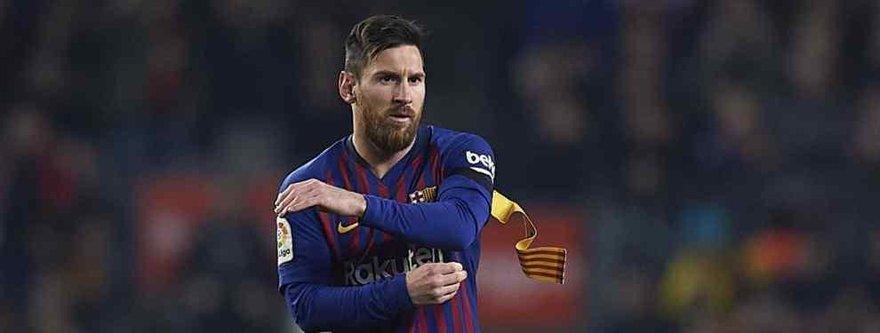 Escándalo mayúsculo: el crack al que Messi ha prohibido poner de titular a Valverde
