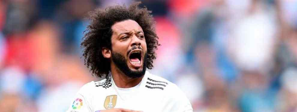 Marcelo no cuenta con la confianza de Santiago Solari.  El técnico argentino del Real Madrid ha hecho con el brasileño lo que nunca antes se atrevió a hacer nadie: sentarlo.