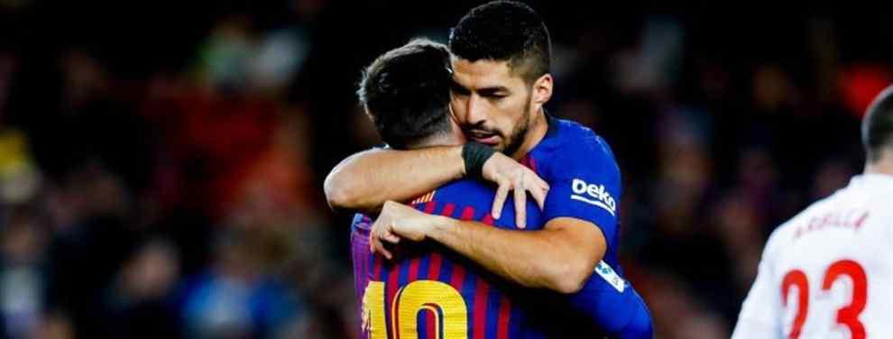 Luis Suárez combina un buen partido con un puñado de encuentros para olvidar.  Cuando Messi no está o no lo está al cien por cien, ni Suárez, ni Coutinho, ni ninguno de los teóricos fichajes llamados a ser estrella