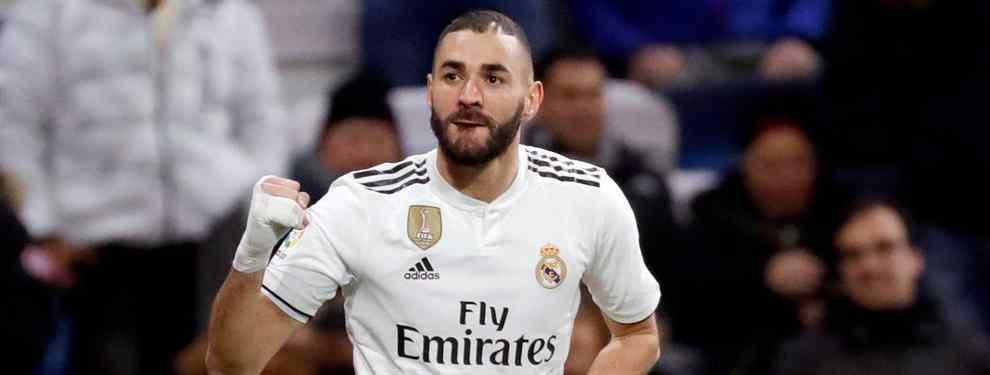 El cambio de cromos con Benzema que tiene Florentino Pérez sobre la mesa del Real Madrid