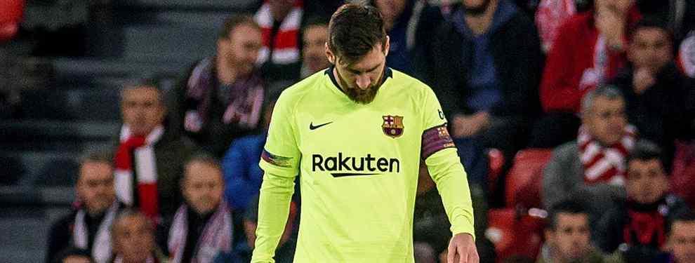Leo Messi es el jefe del Barça de lunes a domingo y las 24 horas del día. Todos los problemas y todas las dudas pasan por el argentino, quién se encarga de despejarlas.