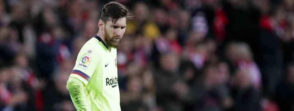 'Top Secret': el fichaje ridículo que intenta cerrar el Barça (y que Messi no quiere ni en pintura)