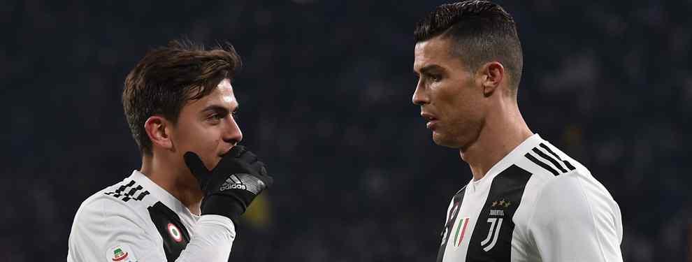 Cristiano Ronaldo y Dybala estallan tras la última locura de la Juventus (y es por celos)