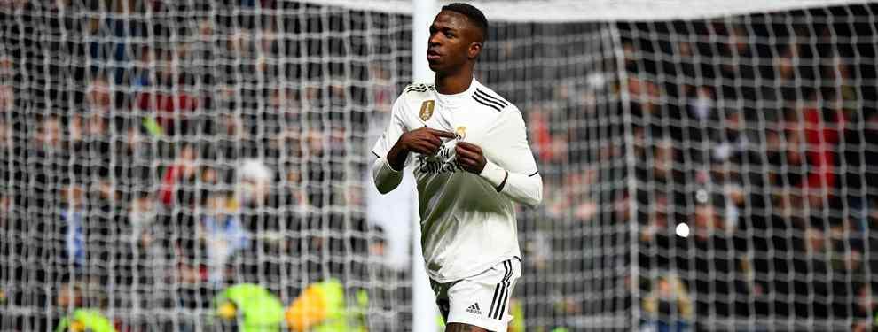 No todo son enemigos para Vinicius en el Real Madrid. Lo cierto es que el brasileño no ha encajado muy bien en el vestuario, donde le acusan de chivato y de ser el 'mimado' de Florentino Pérez, pero ha encontrado un buen amigo