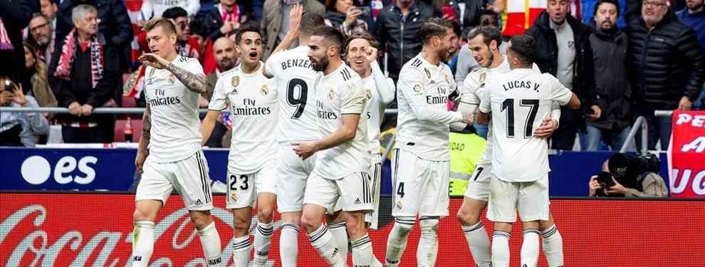 El tapado para el tridente del Real Madrid: el 'nuevo Luis Suárez' de Florentino Pérez