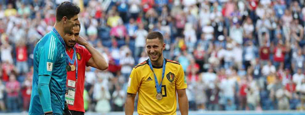 El lío con Eden Hazard en el Real Madrid va a más. Las últimas filtraciones avisan de las exigencias que el belga pone sobre la mesa de Pérez para firmar su llegada al club blanco en verano.