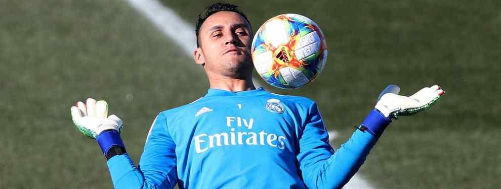 Bombazo: Florentino Pérez ata al sustituto de Keylor Navas en el Real Madrid (y no es Lunin)