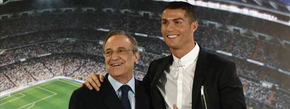 Florentino y Cristiano Ronaldo se enzarzan en la puja por un crack (y el Real Madrid tiene ventaja)