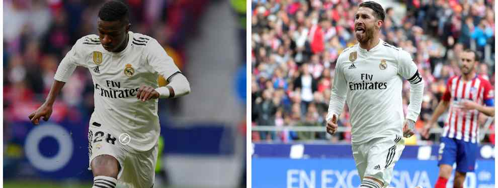Vinícius se enfrena a Sergio Ramos: el fichaje que pide a Florentino Pérez para el Real Madrid